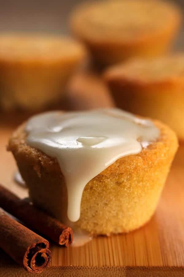 Keto Cinnamon Roll Muffins