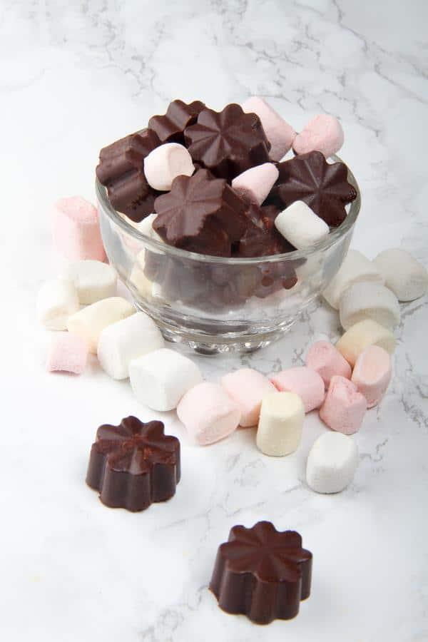 Keto Hot Chocolate Fat Bombs