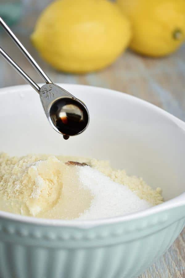 Keto Lemon Vanilla Fat Bombs