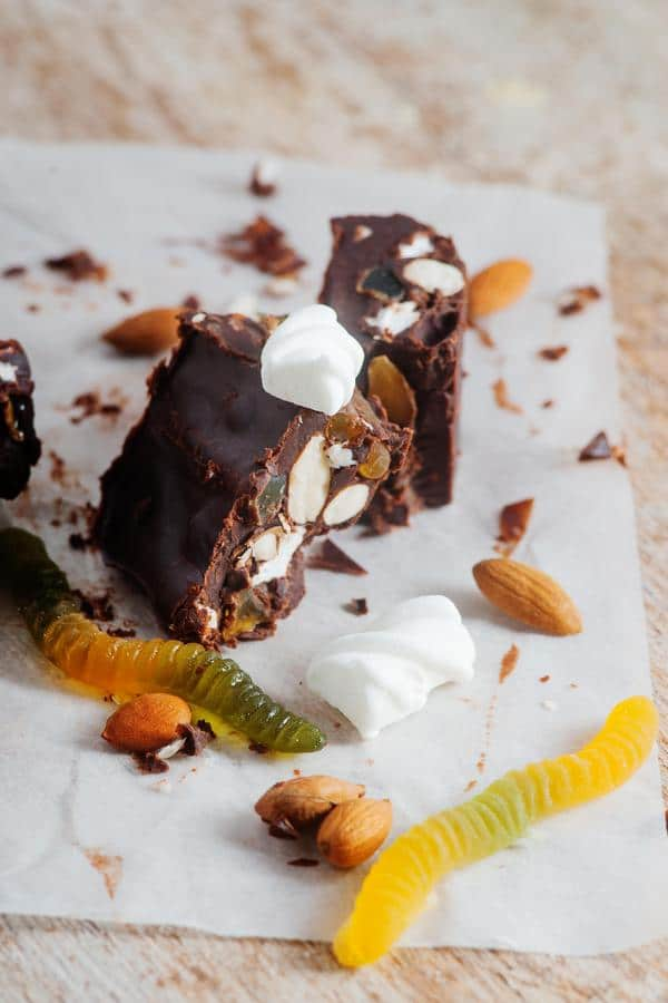 Keto Rocky Road Fat Bombs_Low Carb