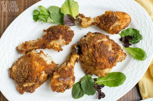 Low Carb Keto Fried Chicken