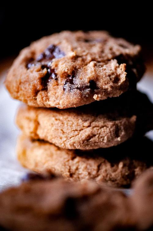 Naturally Sweetened Coconut Flour Banana Chocolate Chip Cookies Gluten Free Dairy Free_