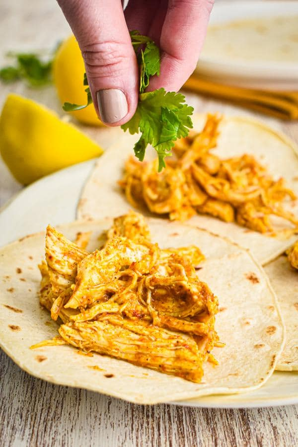 5 Ingredient Chicken Tacos