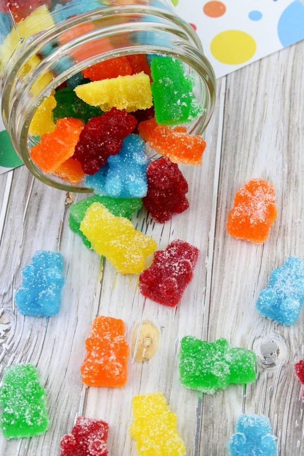 Kids Party Food! BEST Sour Gummy Bears – EASY Candy Party Food Ideas – Recipes - Snacks - Desserts