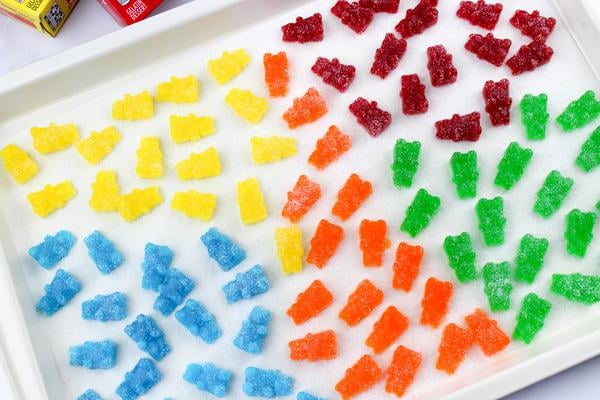 Party Food Sour Gummy Bears