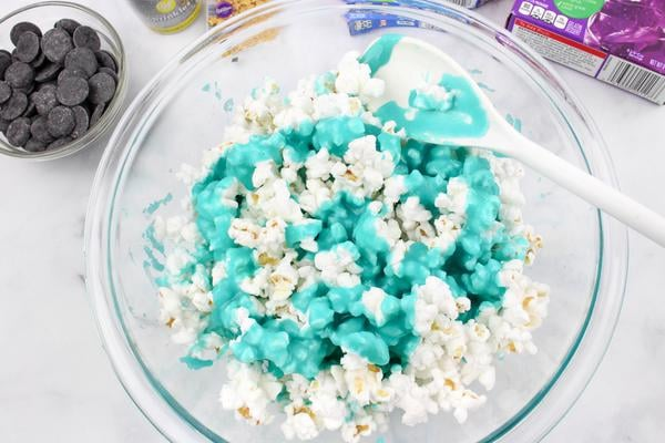 Party Food Galaxy Chocolate Popcorn
