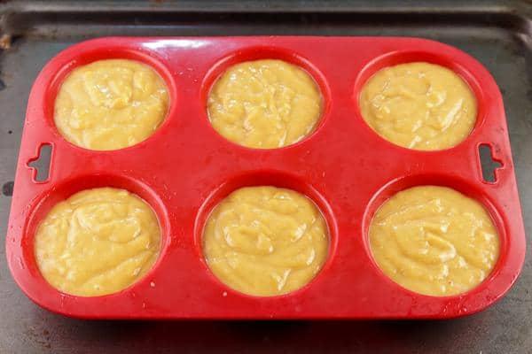 3 Ingredient Peanut Butter Muffins