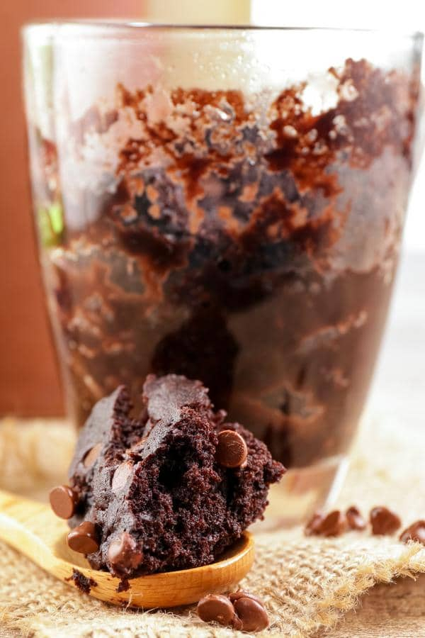 Brownie Mug Cake! BEST Brownie In A Mug Recipe - Quick & Easy 2 Minute Microwave Fudgy Chocolate Brownie Idea - Snacks - Desserts - Treats
