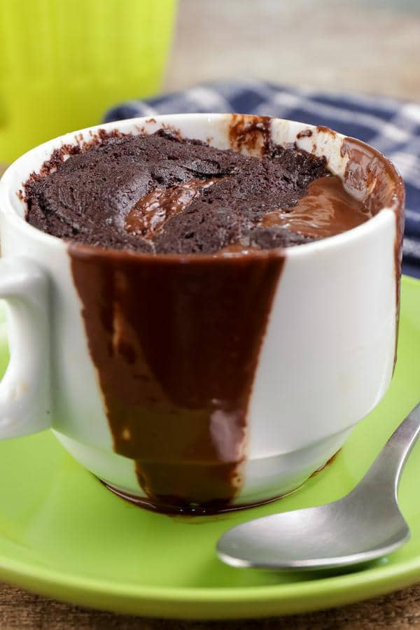 Chocolate Mug Cake! BEST Chocolate Cake In A Mug Recipe – Quick & Easy 2 Minute Microwave Fudgy Chocolate Cake Idea – Snacks – Desserts – Treats