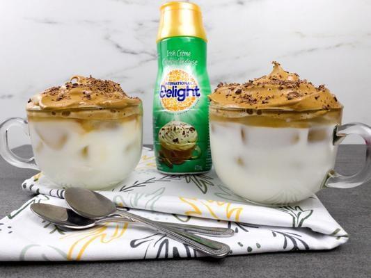 5 Ingredient Dalgona Coffee! Irish Cream Whipped Dalgona Coffee Idea – Quick Simple & Easy Recipe – How To Make Dalgona Coffee – Tik Tok Coffee