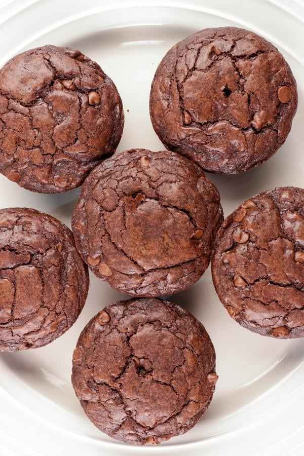 Brownie Muffins! Best Mini Chocolate Brownie Muffin Idea – Quick & Easy Chocolate Recipe – Snacks - Desserts - Breakfast