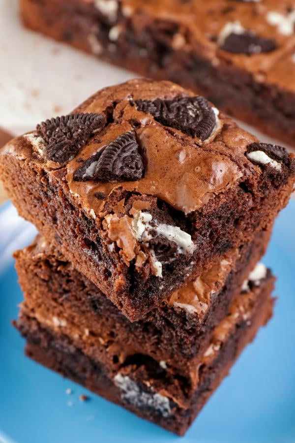 Oreo Brownies - EASY Chocolate Oreo Brownies Recipes - Simple and Quick Chocolate Desserts - Snacks - Treats - Party Food - Oreo Desserts