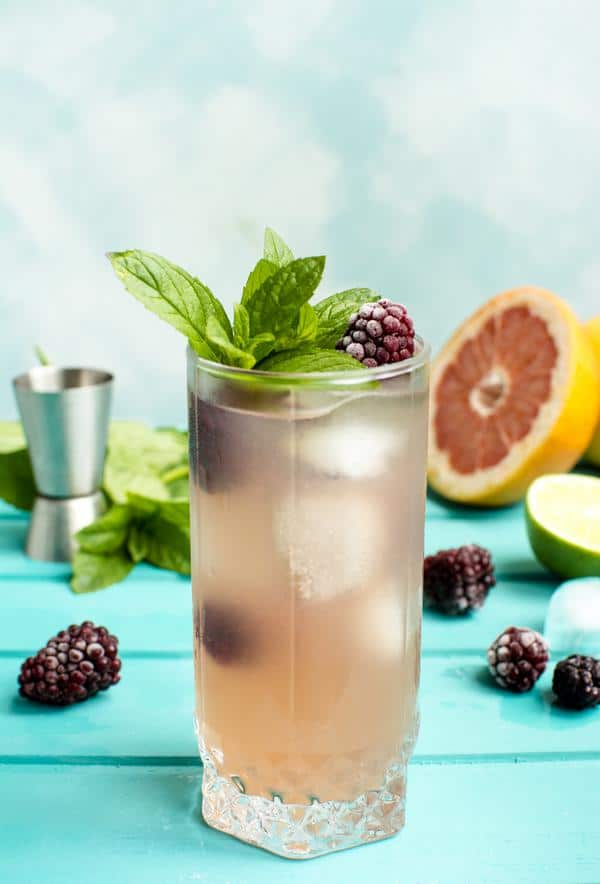 Alcoholic Drinks – BEST Blackberry Rum Recipe – Easy and Simple Rum Cocktail – How To Make Homemade Alcohol Cocktails