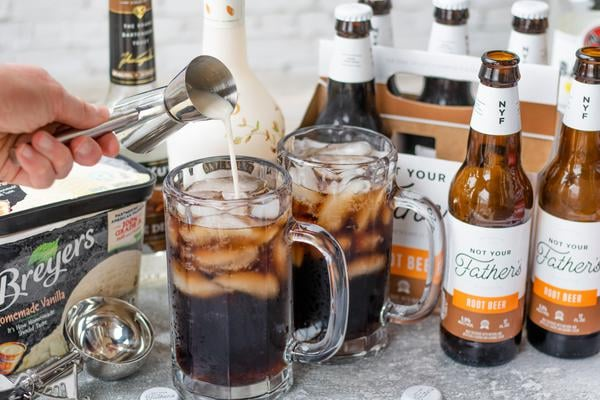 Alcohol Drinks Boozy Root Beer Float