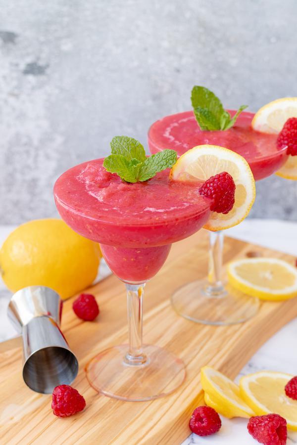 Alcoholic Drinks – BEST Raspberry Margarita Recipe – Easy and Simple Frozen Margarita - How To Make Homemade Margarita