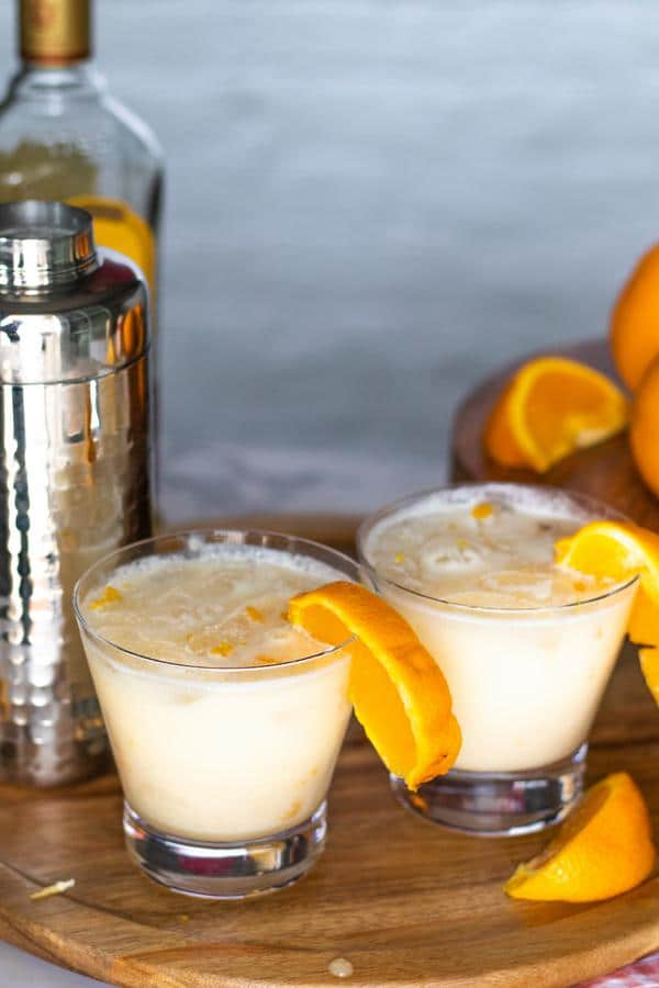 Alcoholic Drinks – BEST Orange Creamsicle Recipe – Easy and Simple On The Rocks Margarita – How To Make Homemade Margarita