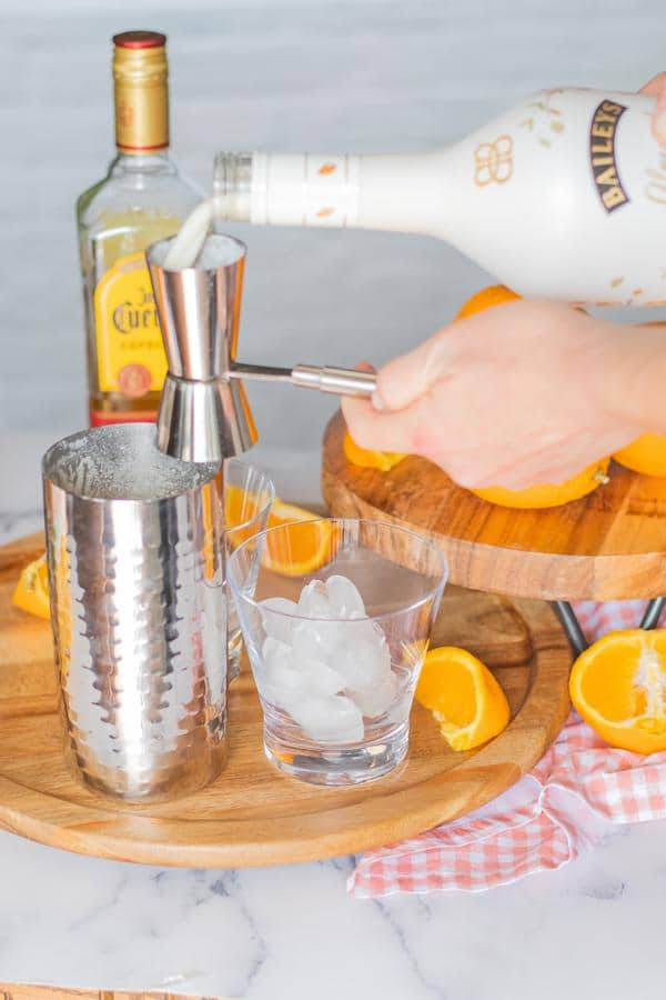 Alcohol Drinks Orange Creamsicle Margarita