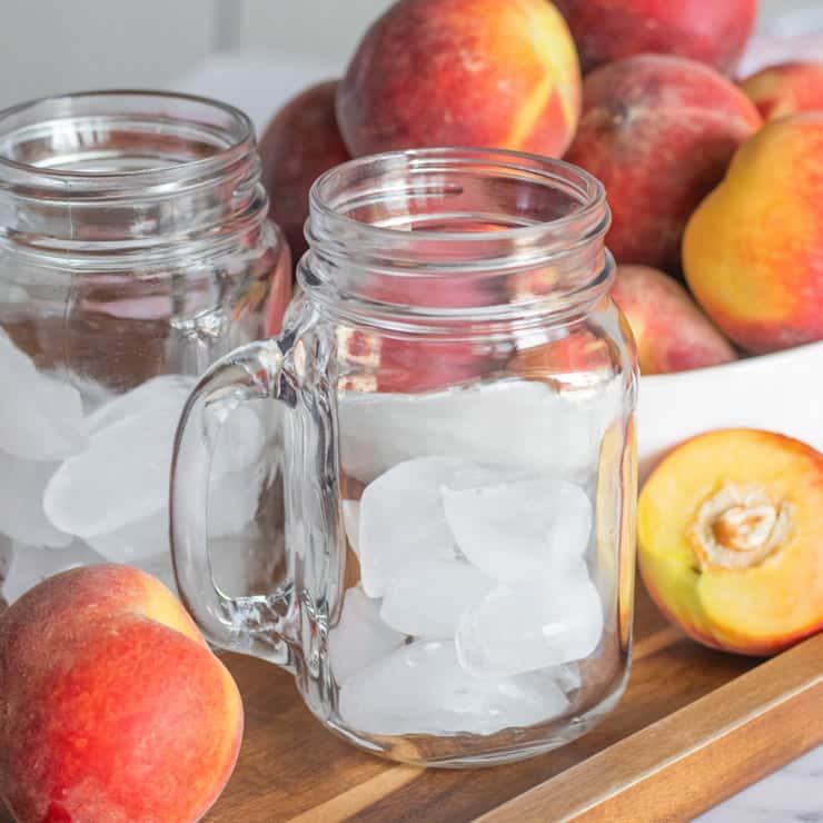 Alcohol Drinks Peach Long Island Ice Tea