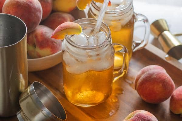 Alcoholic Drinks – BEST Peach Long Island Ice Tea Recipe – Easy and Simple Cocktail – How To Make Homemade Alcohol Cocktails
