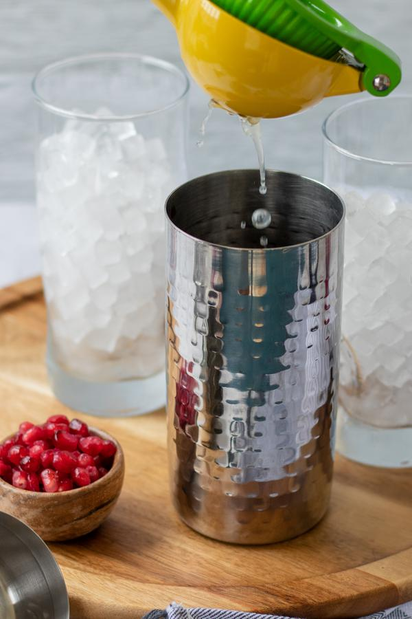 Alcohol Drinks Pomegranate Mojito