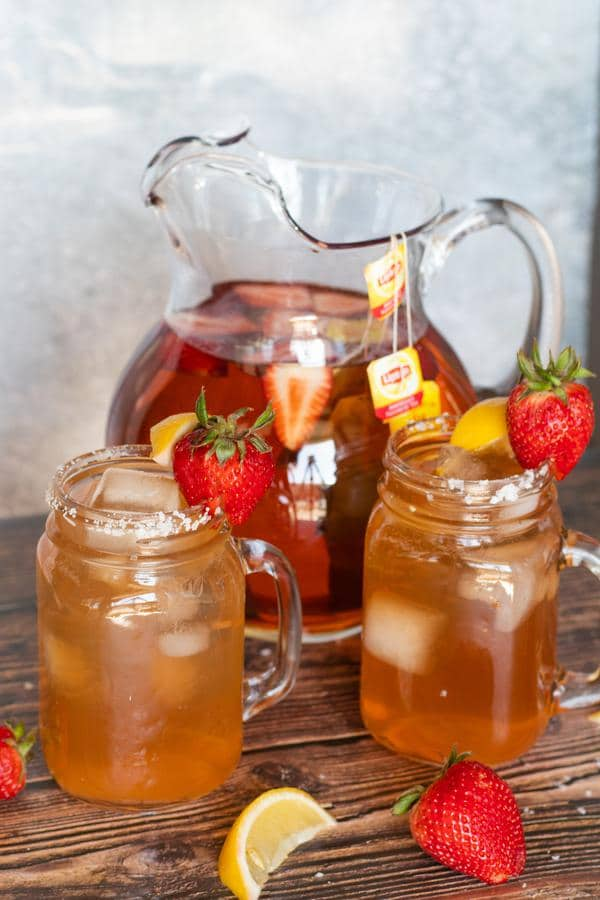 Alcoholic Drinks – BEST Strawberry Tea Recipe – Easy and Simple On The Rocks Margarita – How To Make Homemade Margarita