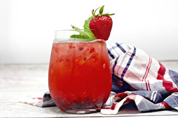 Alcoholic Drinks – BEST Triple Berry Recipe – Easy and Simple Cocktail – How To Make Homemade Alcohol Cocktails - Tequila and Rum