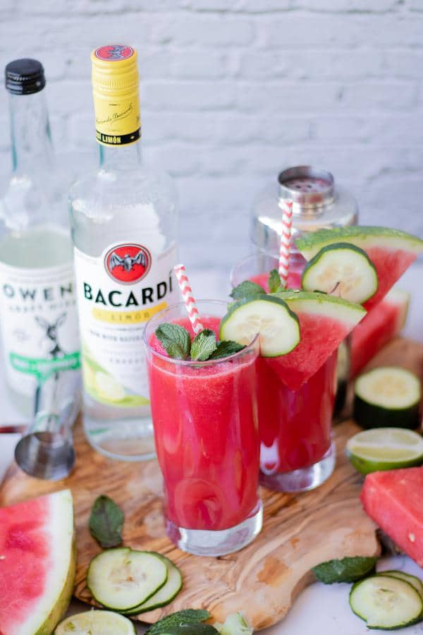 Alcoholic Drinks – BEST Watermelon Mojito Recipe – Easy and Simple Rum Cocktail – How To Make Homemade Alcohol Cocktails