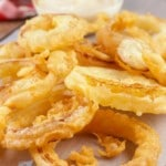 Onion Rings! Beer Batter Onion Rings – Easy Fried Recipe – Best - Appetizer – Side Dish – How To Make