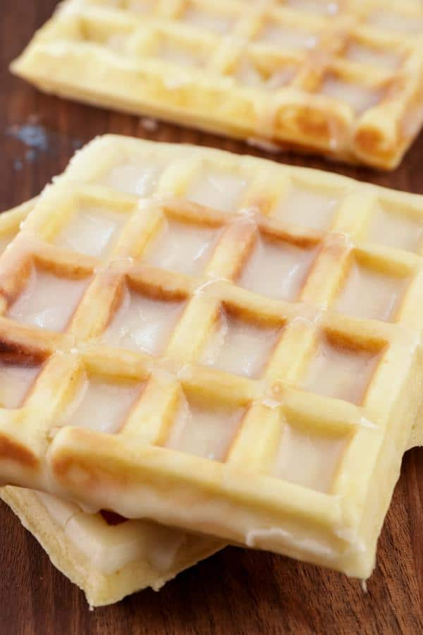Easy Waffles – Best Homemade Glaze Donut Waffle Recipe – {Easy} Breakfast – Dinner – Snacks – Desserts – Quick – Simple