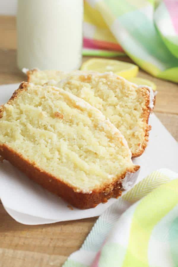Easy Lemon Pound Cake – Lemon Pound Cake With Glaze Recipe – BEST Homemade Moist Pound Cake – How To Make – Quick – Simple – Desserts – Snacks –Breakfast - Party Food