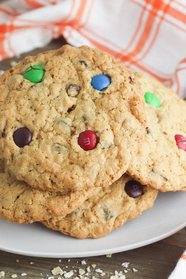 Easy Cookies – Peanut Butter Chocolate Chip Oatmeal Cookie Recipe – BEST Homemade Cookies – How To Make – Quick – Simple – Desserts – Snacks – Party Food