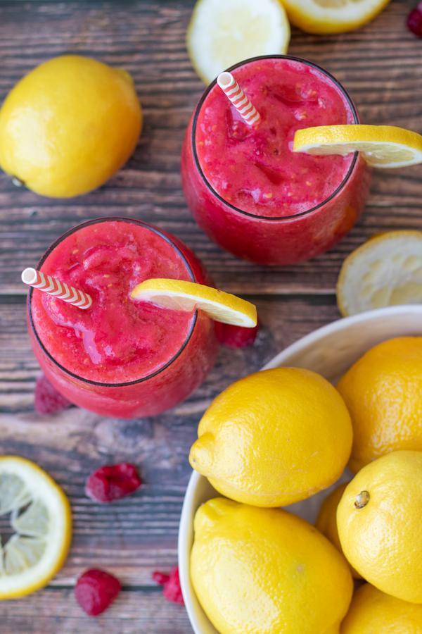 Wine Slushie Recipe! Easy Wine Slushie – How To Make Quick and Healthy Pink Lemonade Alcohol Wine Slushies - Wine Frozen Slushie
