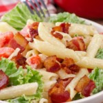 Easy Pasta Salad – Best Homemade BLT Pasta Salad Recipe – {Easy} Lunch – Dinner – Snacks – Side Dishes – Quick – Simple