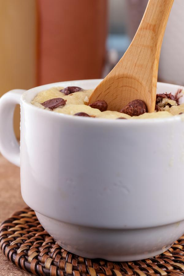 Chocolate Chip Mug Cake! BEST Chocolate Chip Cake In A Mug Recipe – Quick & Easy 2 Minute Microwave Chocolate Chip Cake Idea – Snacks – Desserts – Treats