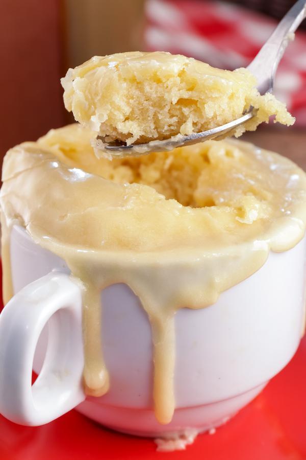 Glaze Donut Mug Cake! BEST Glaze Donut Cake In A Mug Recipe – Quick & Easy 2 Minute Microwave Glaze Donut Idea – Breakfast - Snacks – Desserts – Treats