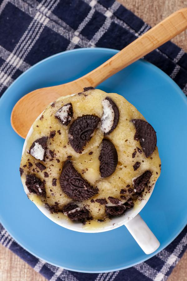 Oreo Cookie Mug Cake! BEST Oreo Cookie Cake In A Mug Recipe – Quick & Easy 2 Minute Microwave Chocolate Cookie Cake Idea – Snacks – Desserts – Treats
