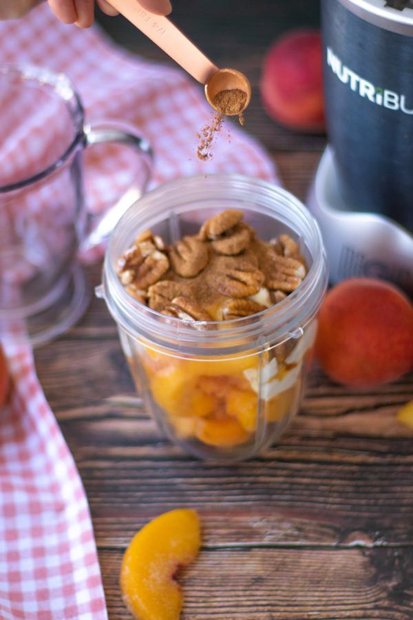 Peach Pie Smoothie Recipe