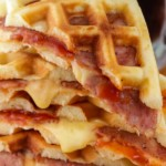 Easy Pizza – Best Homemade Stuffed Pizza Waffle Recipe – {Easy} – Snacks – Lunch – Dinner – Quick – Simple