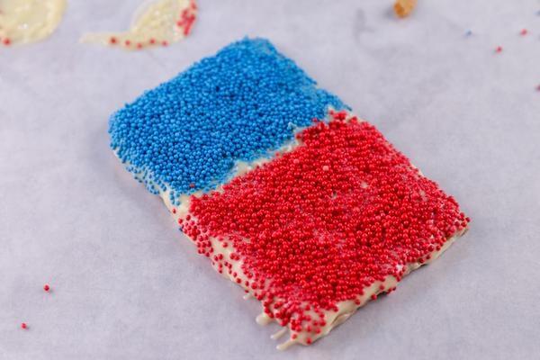 Red White Blue Ice Cream Sandwiches