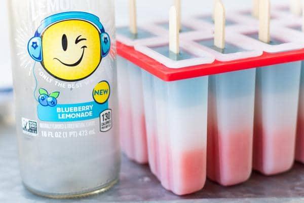 Red White Blue Popsicles
