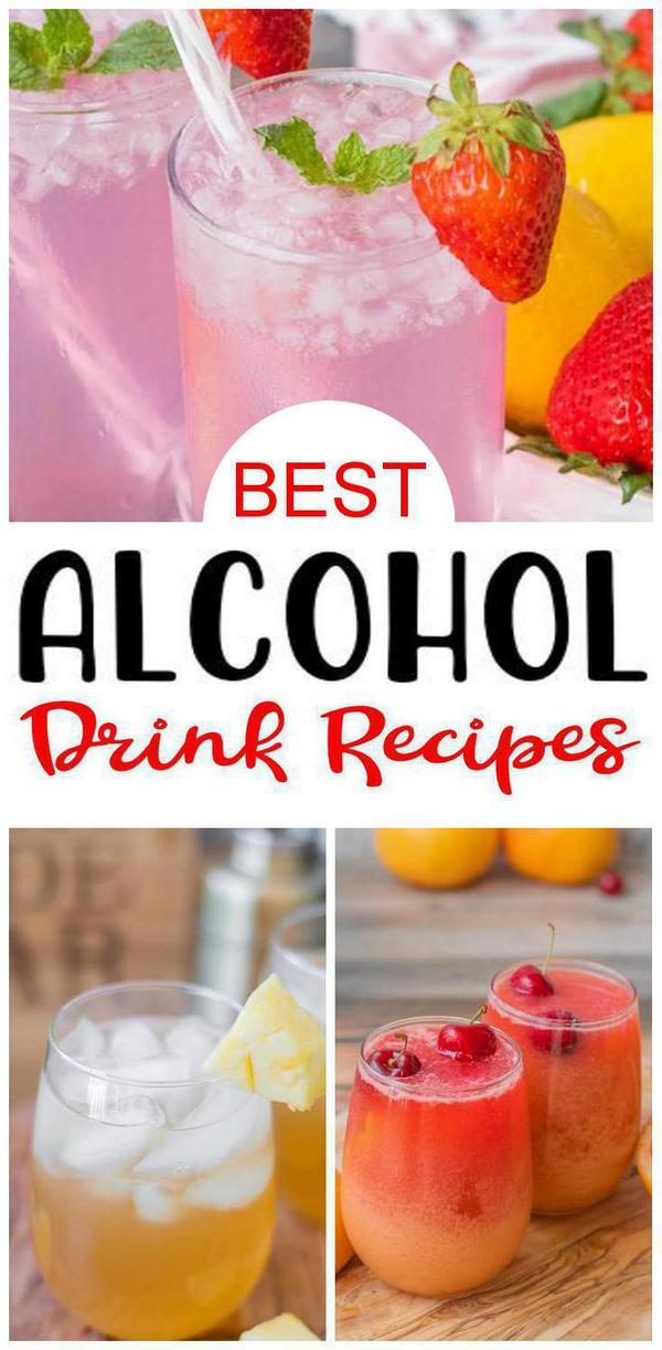 9 Alcohol Drink Recipes You Are Going to Love
