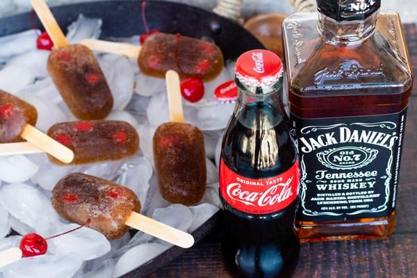 Boozy Popsicles – BEST Boozy Popsicles Recipe – Easy and Simple Jack and Coke Popsicles – How To Make Alcoholic Popsicles