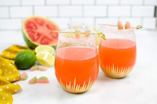 Alcoholic Drinks – BEST Vodka Sour Watermelon Slushie Recipe – Easy and Simple Vodka Cocktail – How To Make Homemade Alcohol Cocktails
