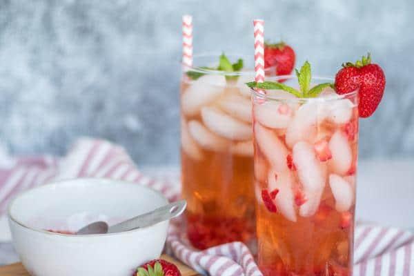 Copycat Starbucks Strawberry Acai Refreshers