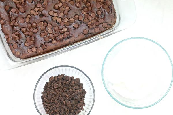 Dark Chocolate Dump Cake