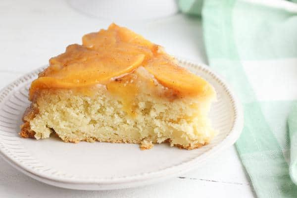 Upside Down Cake – BEST Peach Upside Down Cake Recipe – Easy and Simple From Scratch Homemade Peach Caramel Cake Mix – Snacks – Desserts – Party Food