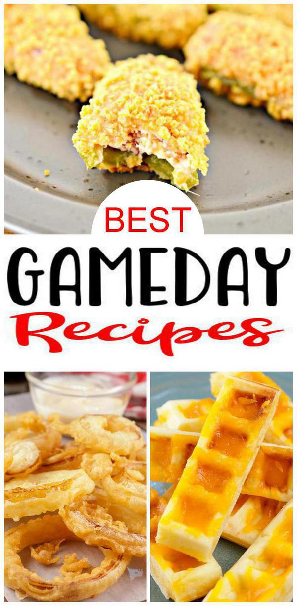 9 Gameday Recipes – BEST Gameday Food Ideas – Easy Snacks – Appetizers – Party Food