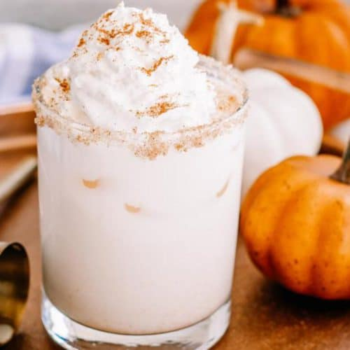 Alcoholic Drinks – BEST Vodka Pumpkin Spice White Russian Recipe – Easy and Simple Vodka Cocktail – How To Make Homemade Alcohol Cocktails