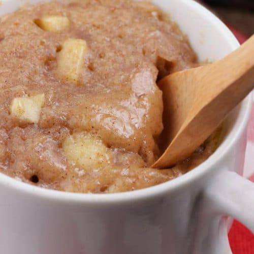 Apple Cinnamon Mug Cake! BEST Apple Cinnamon Cake In A Mug Recipe – Quick & Easy 2 Minute Microwave Idea