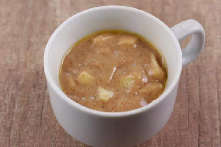Apple Cinnamon Mug Cake